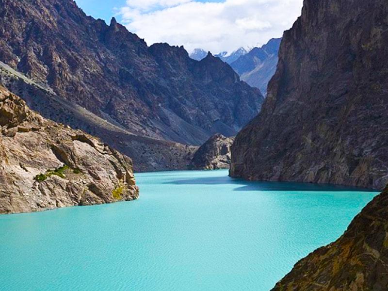 AttaAbad lake, Hunza Valley, Gilgit Baltistan, Click Pakistan