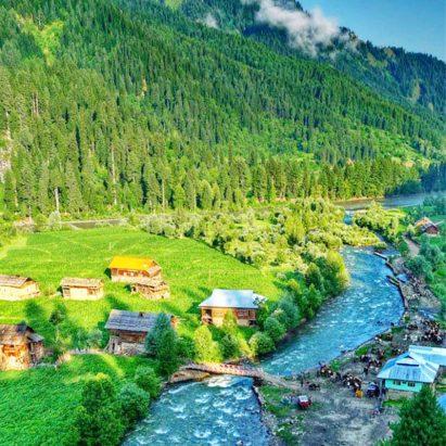 Neelum valley ajk tour package 2020, Best Holiday Honeymoon Tour Travel Trip Destinations, tourists places of Neelum Valley Azad Kashmir