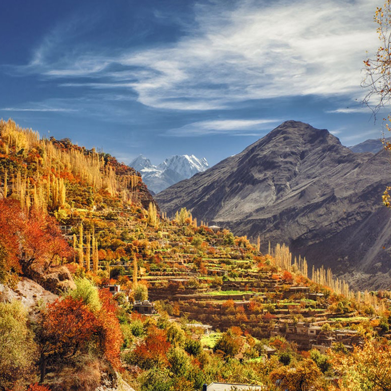8 Days Trip to Hunza Valley & Hopper Glacier