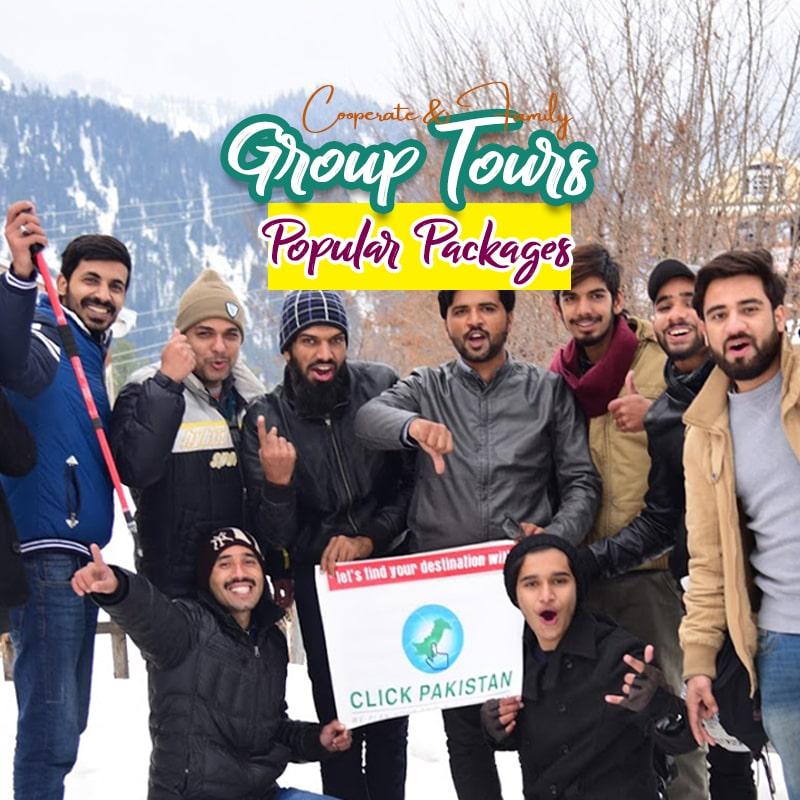 Group tours y Click Pakistan
