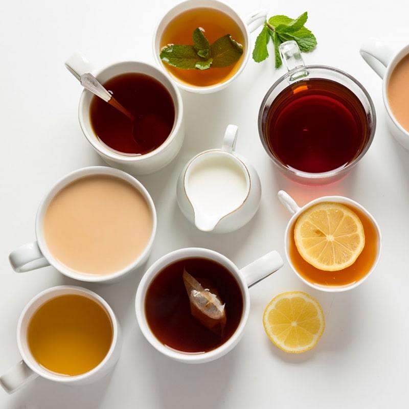 Different Types of Tea in Pakistan
