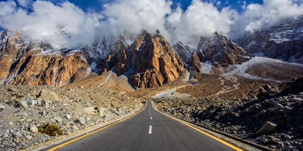 Karakorum Highway Passu cones | Click Pakistan