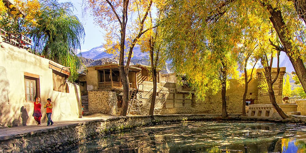 Ganish Village Hunza Valley | Click Pakistan
