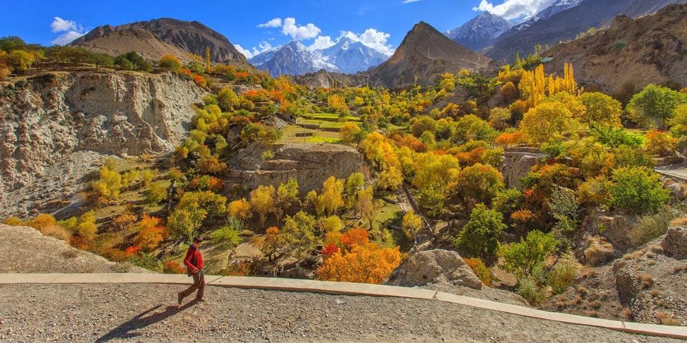 Hopar Valley Nager | Click Pakistan