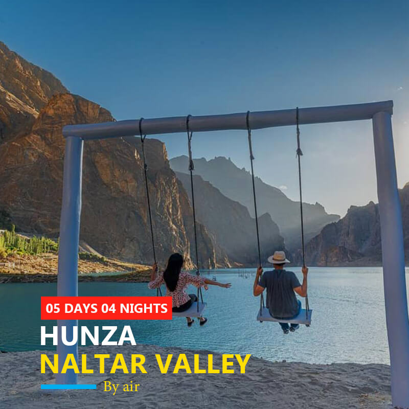 Hunza by air tour package
